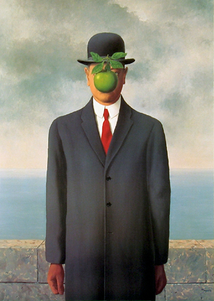 René Magritte, The Son of Man, 1964, Restored by Shimon D. Yanow